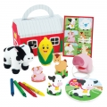 Barnyard Bash Farm Party Favor Box Filled ~ PRE ORDER
